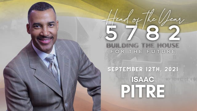 Head of the Year 5782 - Isaac Pitre (...