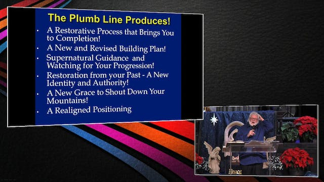 The Plumbline Produces