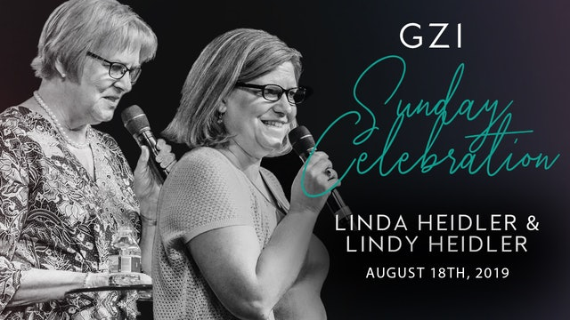 Celebration Service (8/18) - Linda and Lindy Heidler: Staying In Peace