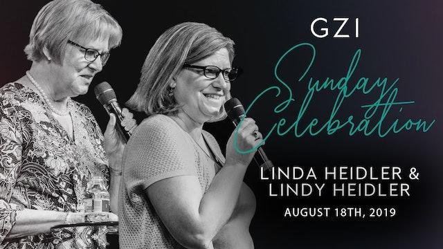 Celebration Service (8/18) - Linda and Lindy Heidler