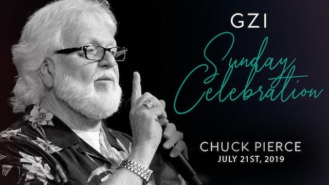 Celebration Service (7/21) - Chuck Pierce: Filling the Gap