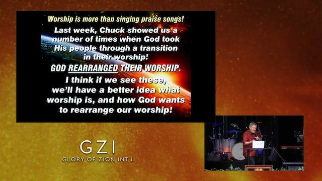 A Time to Rearrange Worship - Worship...
