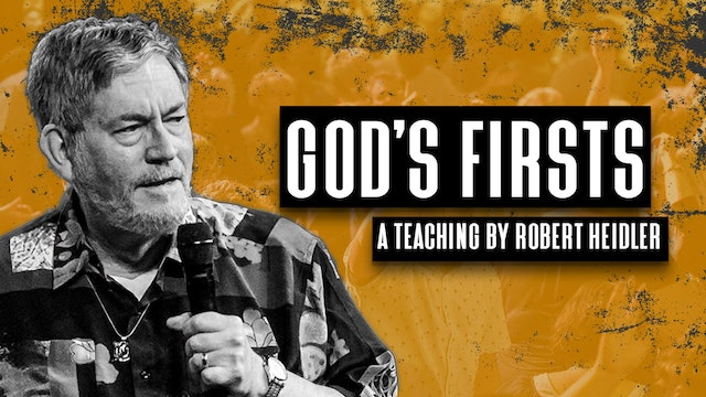 God's Firsts