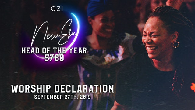 Head of the Year 5780 (9/27) - Worship Declaration
