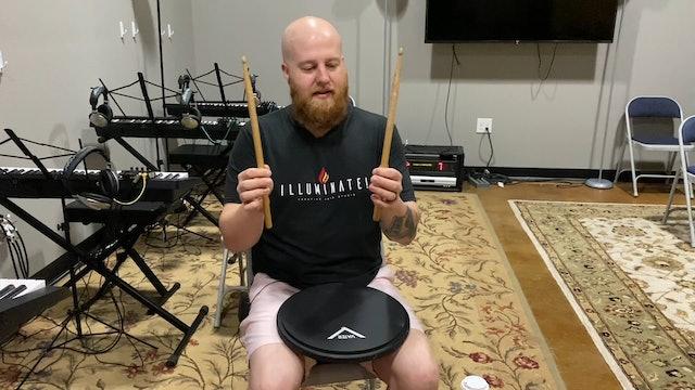 Week 2 - GZI TV - Drums - Rolls