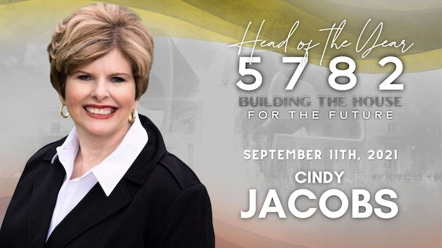 Head of the Year 5782 - Cindy Jacobs (9/11)