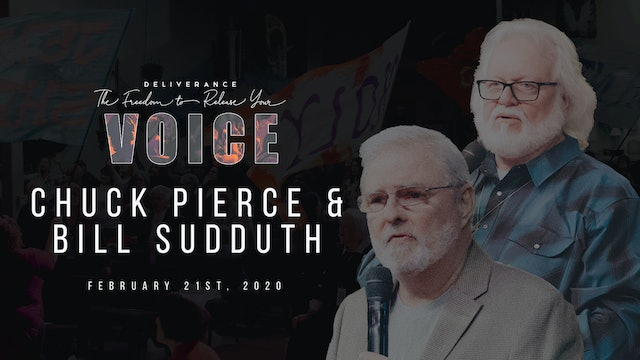 Release Your Voice - Chuck Pierce & Bill Sudduth (02/21)