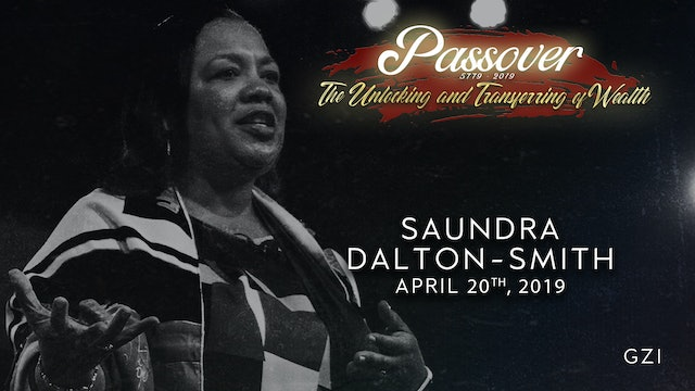 Passover 5779 - Session 6 (4/20) -Saundra Dalton-Smith