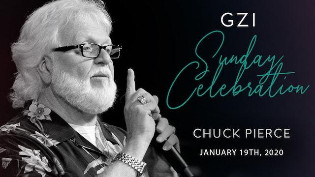 Celebration Service (01/19) - Chuck Pierce: A Crisis of Identity