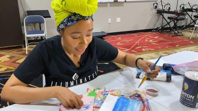 Week 2 - GZI TV - Art Ocean Painting