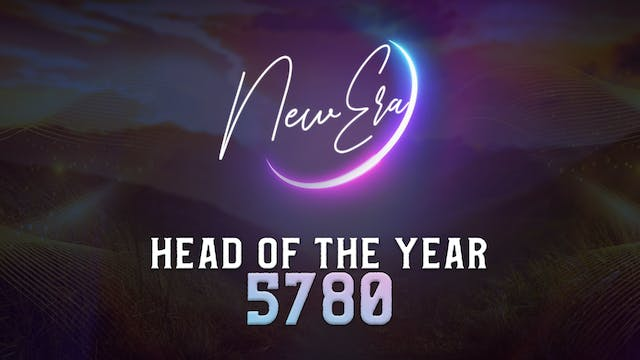 Head of the Year 5780