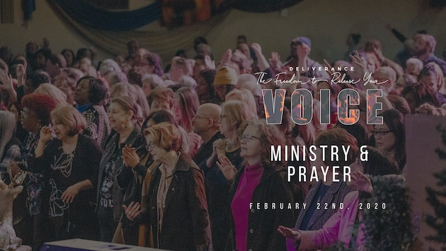 Release Your Voice - Ministry & Prayer (02/22)