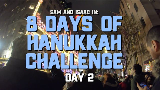 8 Days of Hanukkah Challenge - Day 2