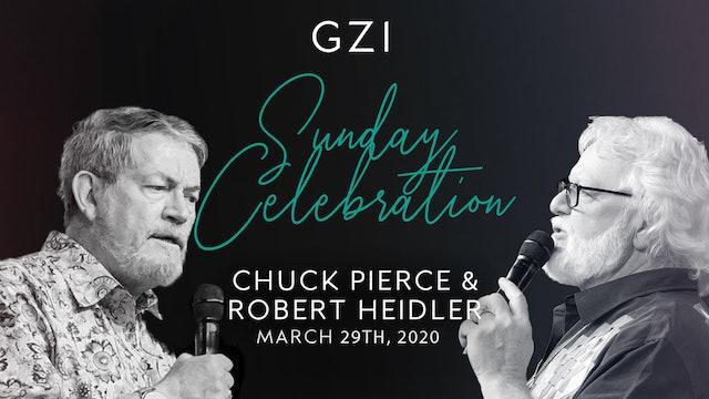 Celebration Service (3/29) - Chuck Pierce and Robert Heidler:Tightening Our Belt