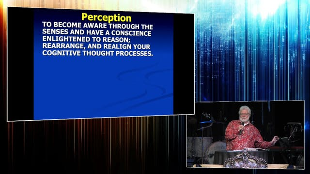 The Importance of Perception