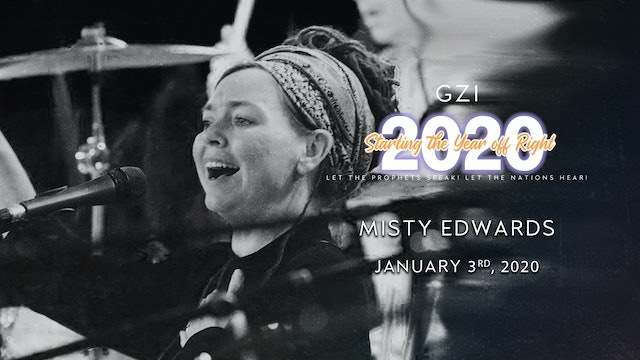 Starting the Year Off Right (01/03): Misty Edwards