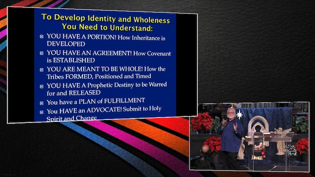 Developing Identity and Wholeness