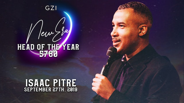 Head of the Year 5780 (9/27) - Isaac Pitre