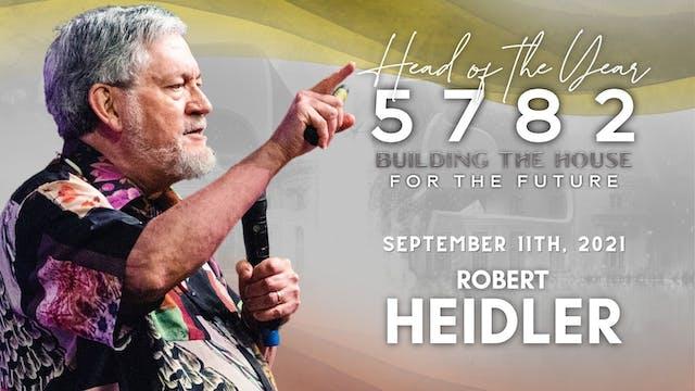 Head of the Year 5782 - Robert Heidle...