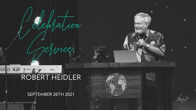 Celebration Service (9/26) - Robert H...