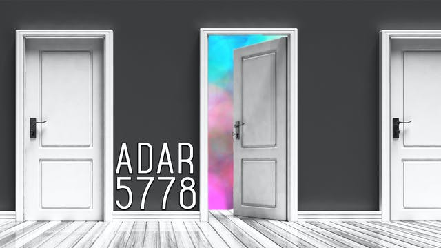 Firstfruits - Adar 5778 - February 11...