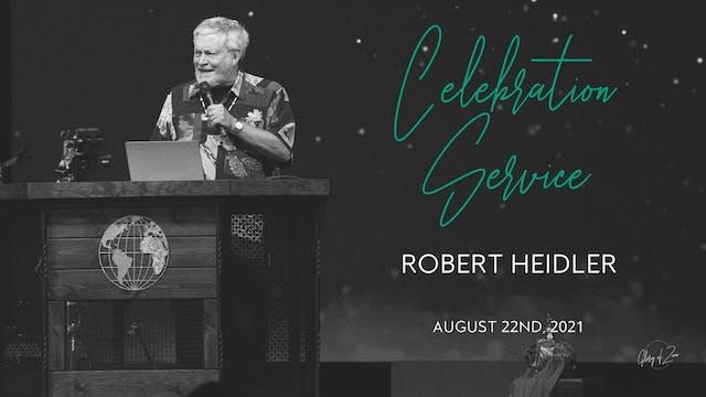 Celebration Service (8/22) - Robert H...
