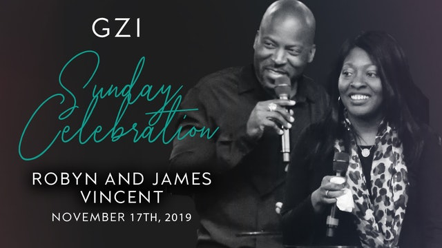 Celebration Service (11/17) - Robyn and James Vincent