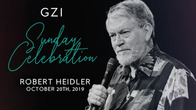 Celebration Service (10/20) - Robert Heidler