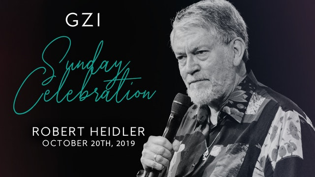 Celebration Service (10/20) - Robert Heidler: Simchat Torah