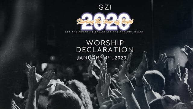 Starting the Year Off Right (01/04): Worship Declaration