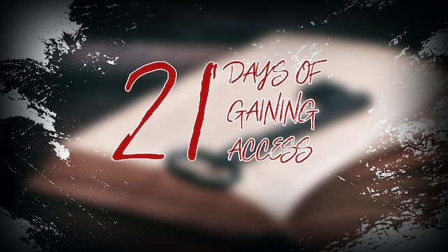 21 Days of Gaining Access - Saturday ...