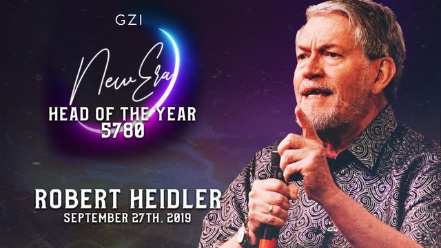 Head of the Year 5780 (9/27) - Robert Heidler