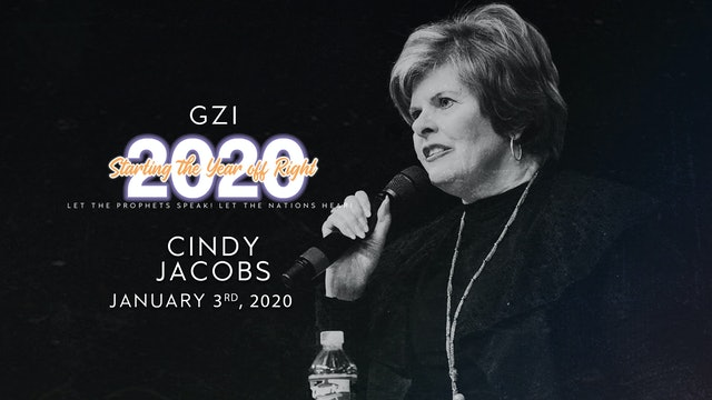 Starting the Year Off Right (01/03): Cindy Jacobs
