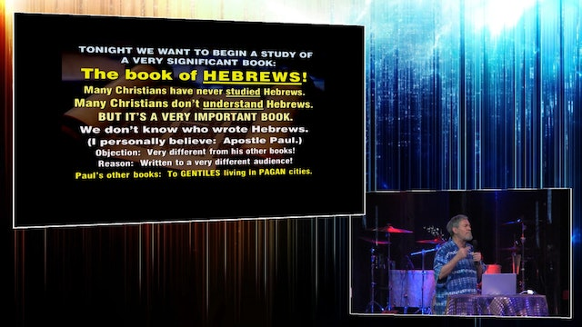 The Book of Hebrews - Intro
