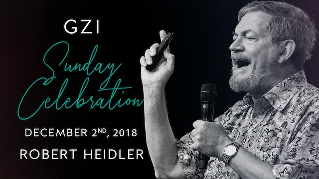 Celebration Service (12/2) - Robert Heidler: Hanukkah: The Feast of Light 5779!