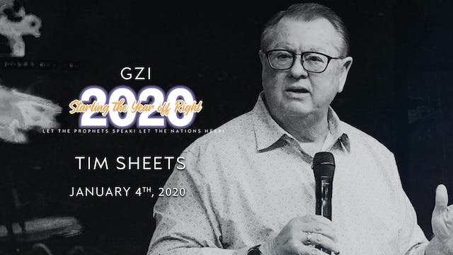 Starting the Year Off Right (01/04): Tim Sheets