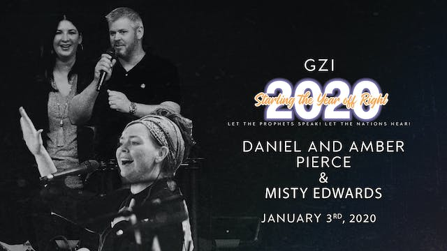Starting the Year Off Right (01/03): Daniel and Amber Pierce and Misty Edwards