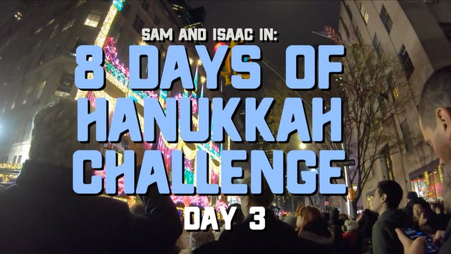 8 Days of Hanukkah Challenge - Day 3