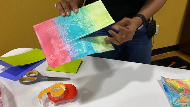 Art with Tumi - Card and Envelope Making