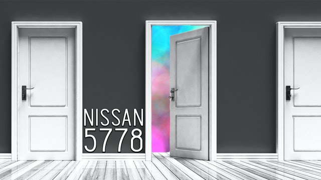 Firstfruits - Nissan 5778 - March 18th, 2018