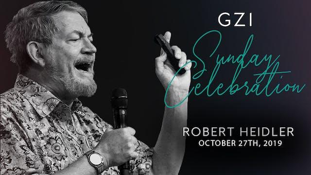 Celebration Service (10/27) - Robert ...