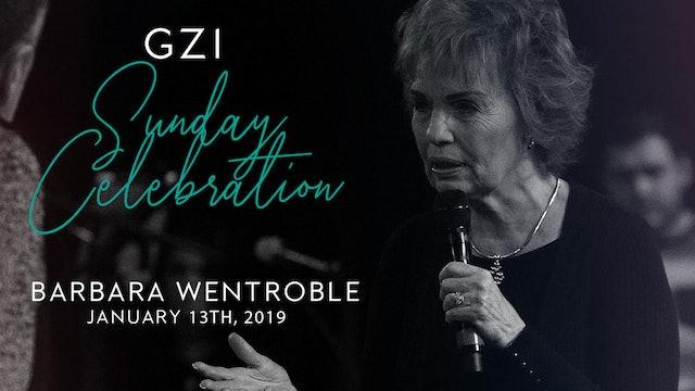 Celebration Service - (01/13) - Barbara Wentroble