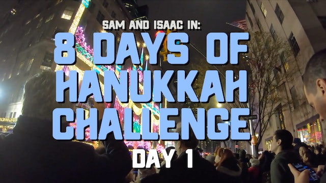 8 Days of Hanukkah Challenge - Day 1