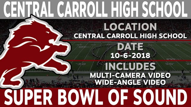 Central-Carroll High School - Super Bowl Of Sound