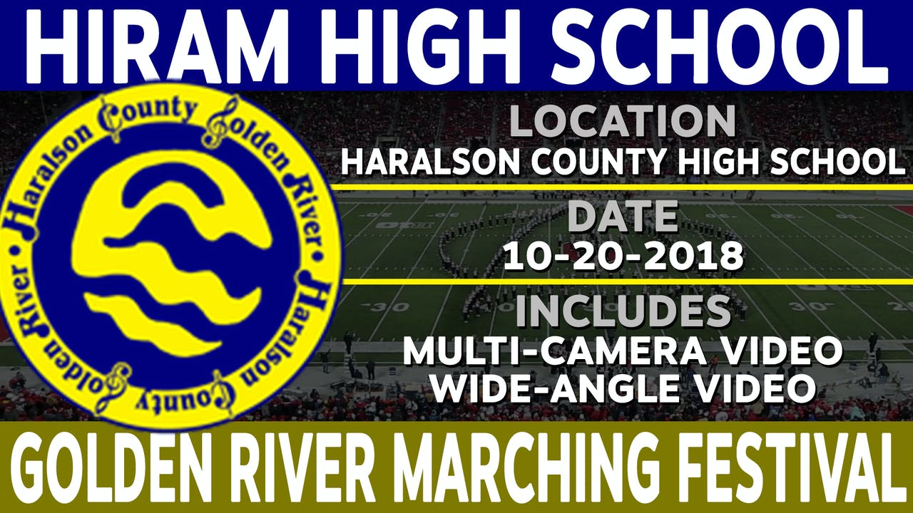 Hiram High School - Golden River Marching Festival