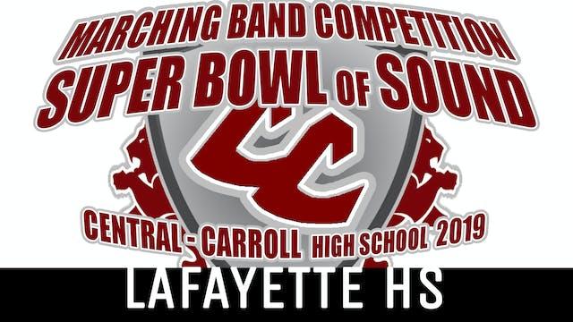 Lafayette HS - 2019 Super Bowl of Sound