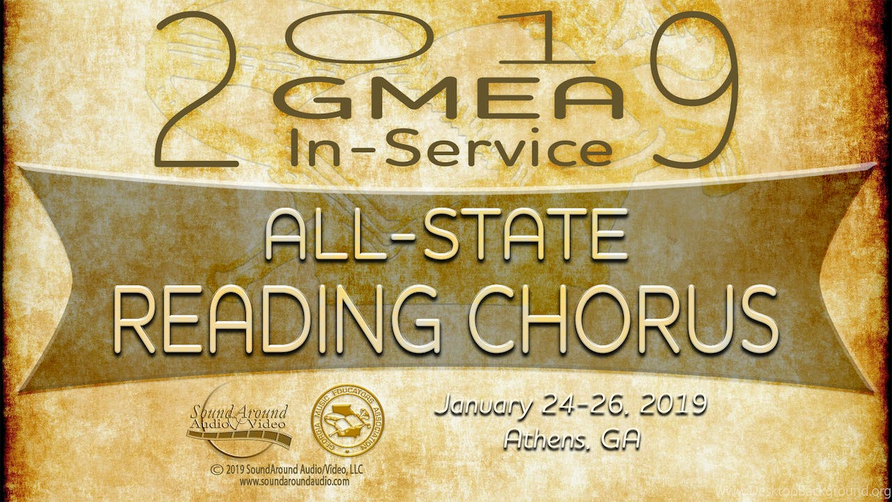 2019 All State Reading Chorus
