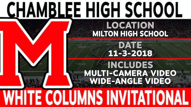 Chamblee High School - White Columns Invitational