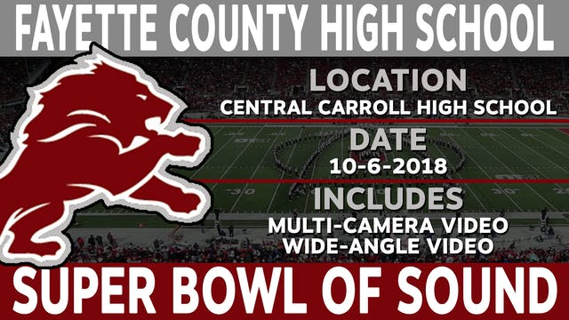 Fayette County High School - Super Bowl Of Sound