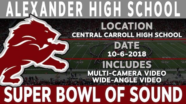 Alexander High School - Super Bowl Of Sound